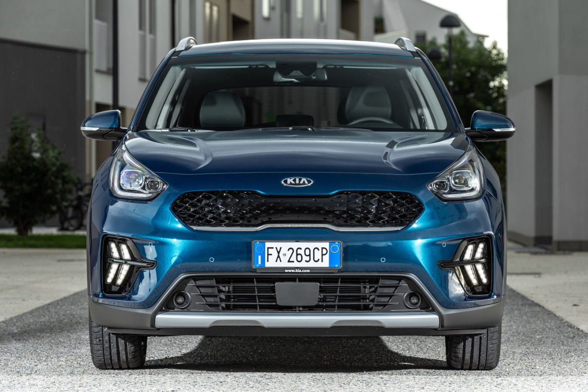 KIA NIRO RESTYLING, NEW INSIDE