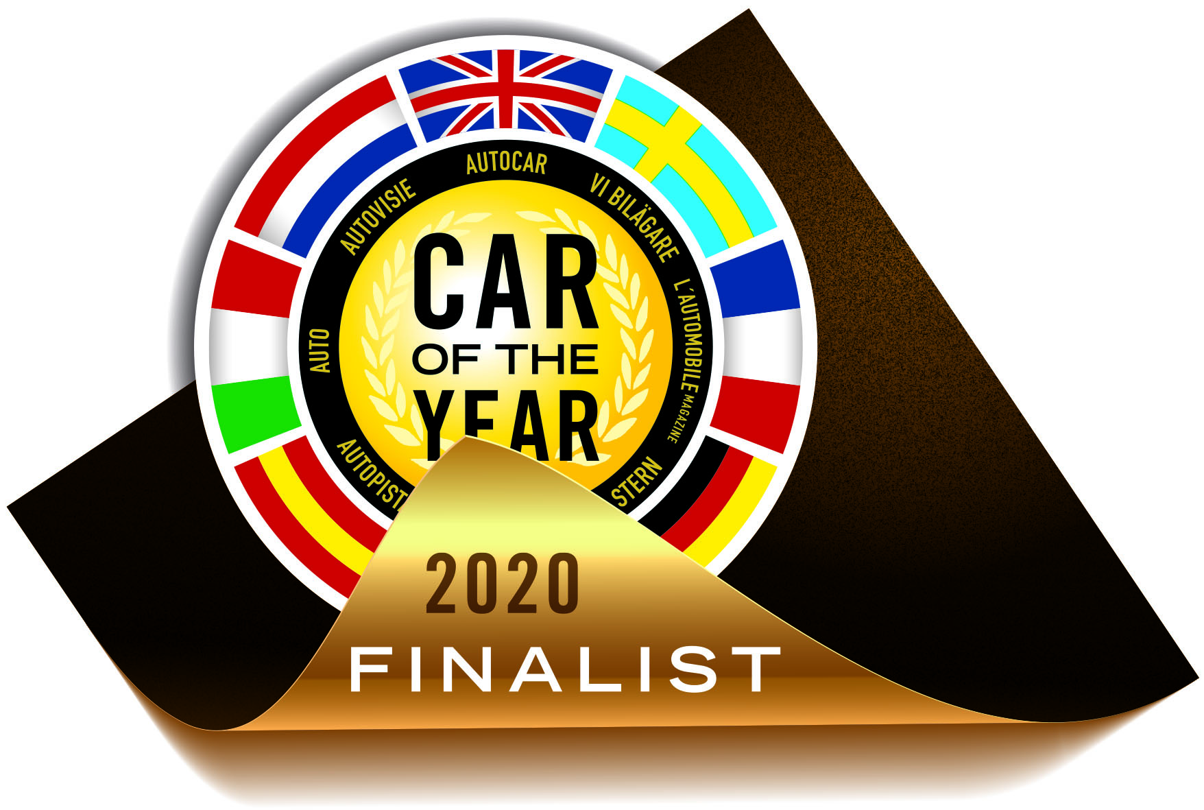 COTY 2020, THE SEVEN FINALISTS