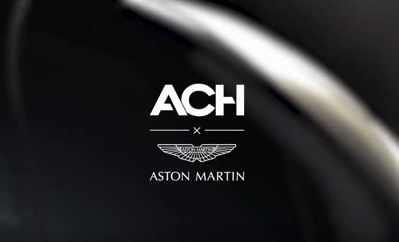 ASTON MARTIN AND ACH, DESIGN COLLABORATION