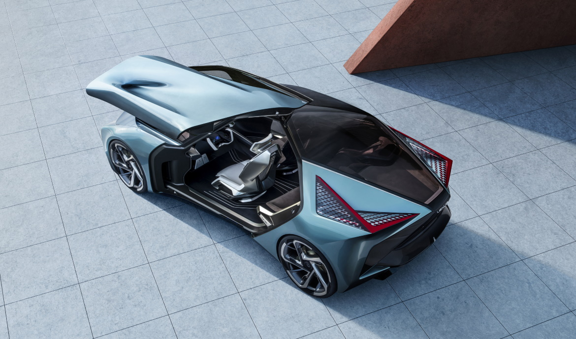 LEXUS LF-30, CROSSOVER FROM THE FUTURE
