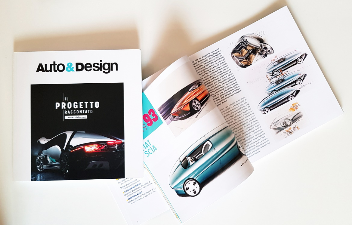 AUTO&DESIGN, 40 YEARS OF CAR DESIGN IN A BOOK