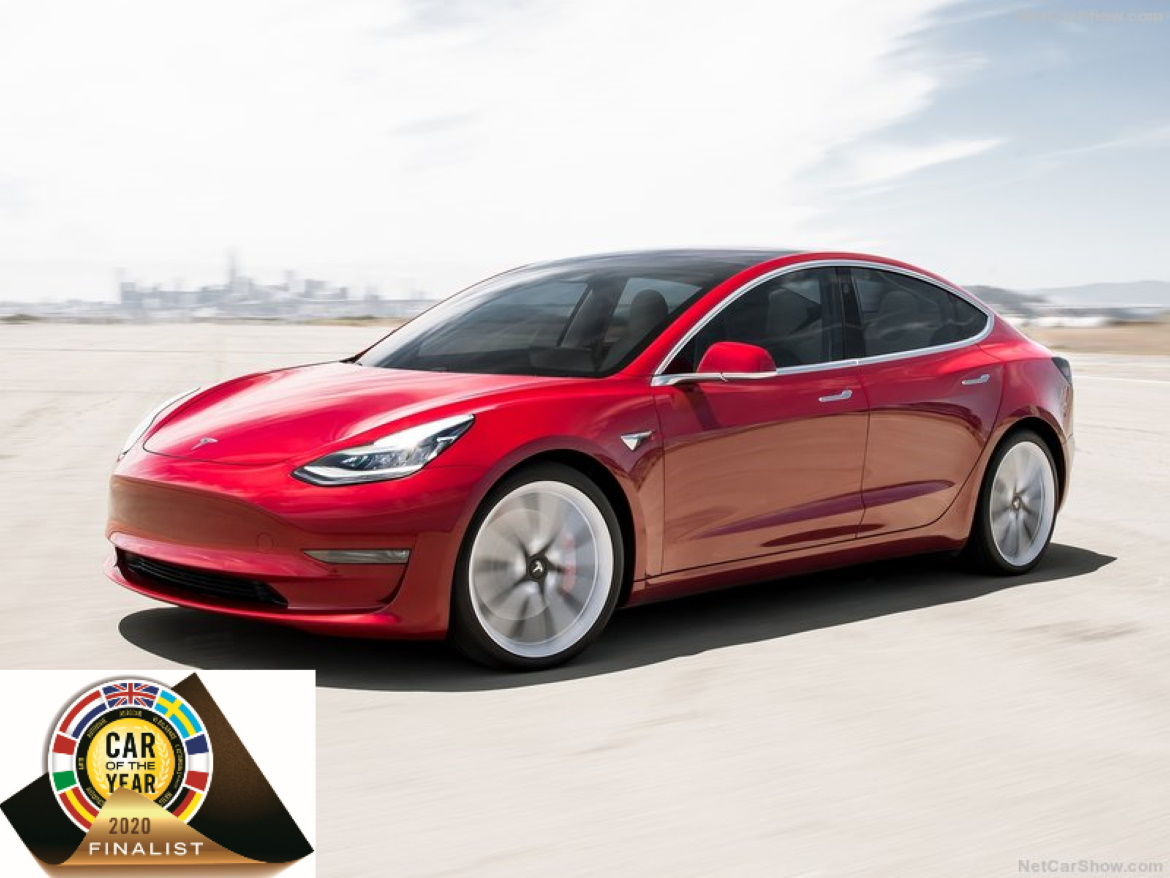 CAR OF THE YEAR 2020 FINALISTS | TESLA MODEL 3
