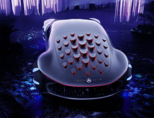 MERCEDES-BENZ VISION AVTR, BIOMETRIC DREAM