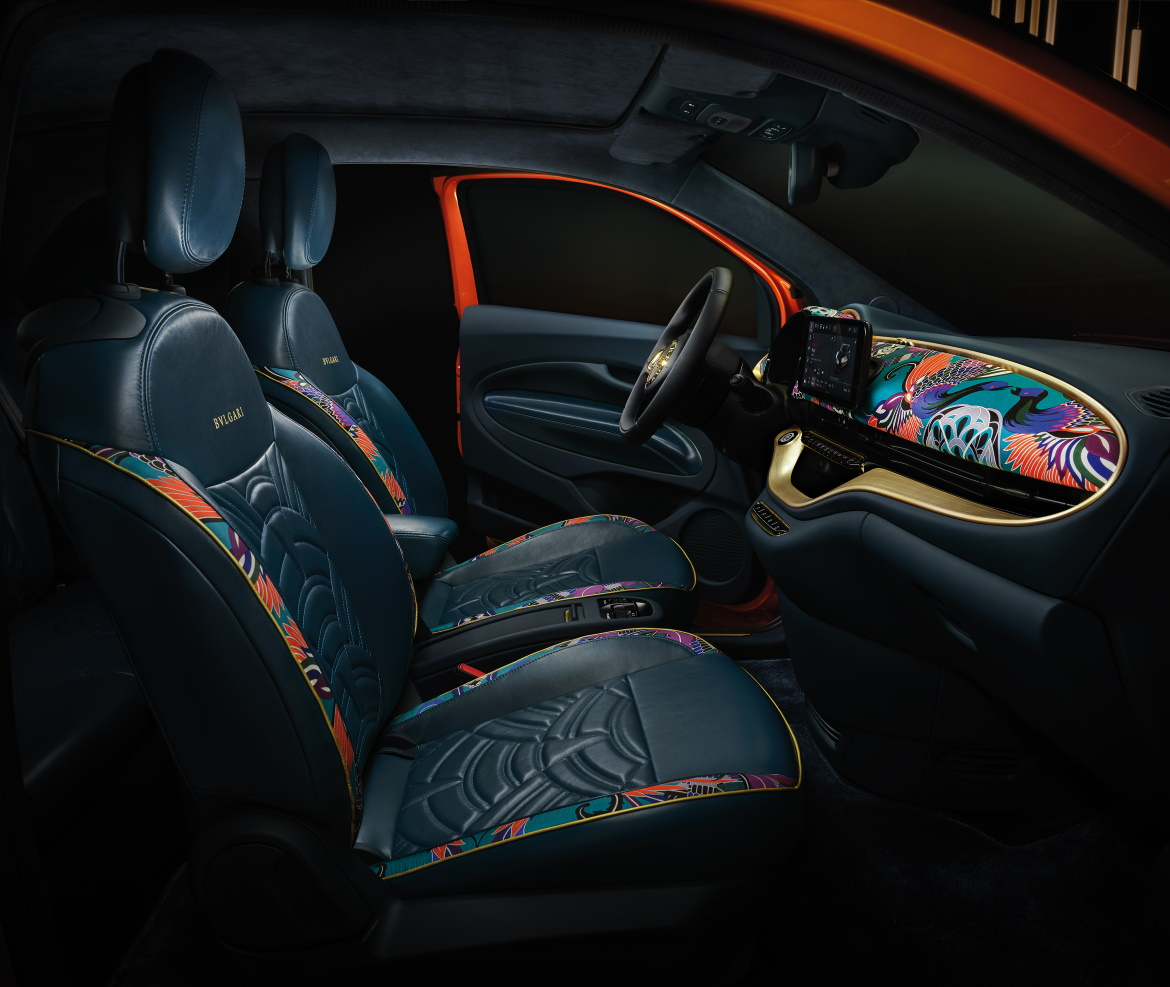 FIAT 500 EV: THE BVLGARI, KARTELL AND ARMANI ONE OFF