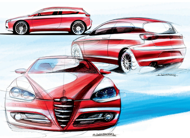 Design History Alfa Romeo Giulietta Auto Design