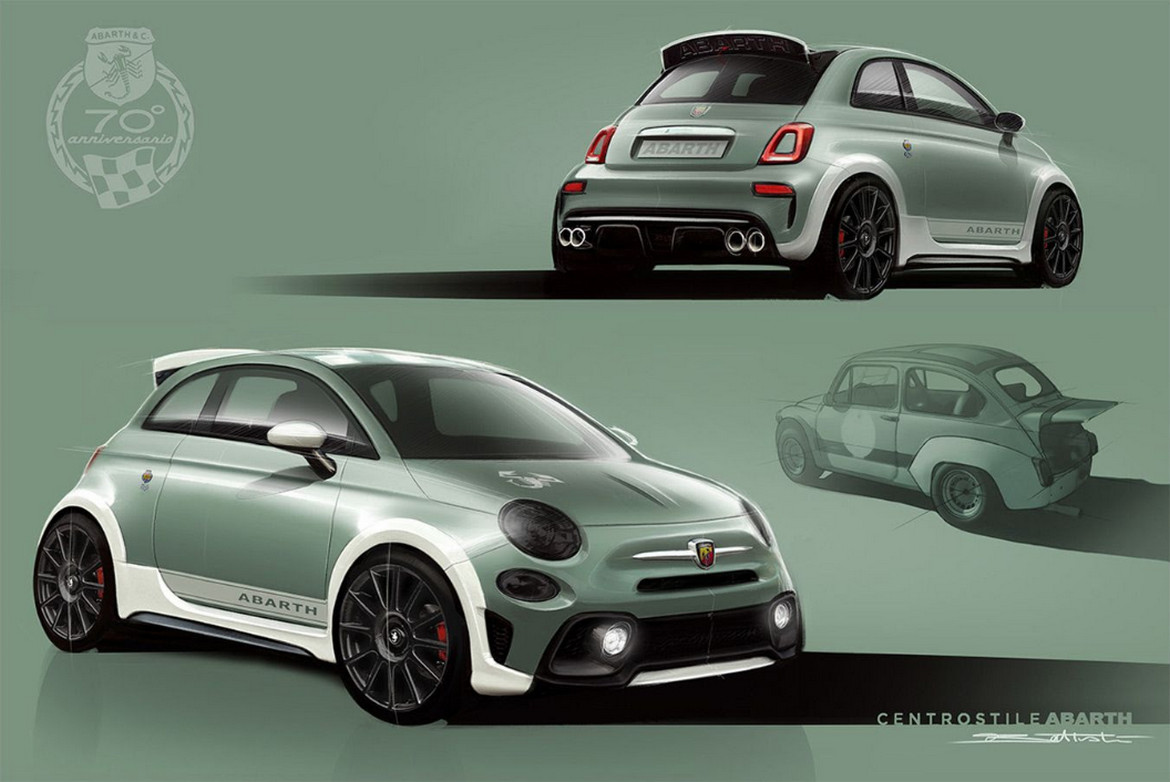 """ABARTH, """"THE SPOILER IS IN OUR DNA"""""""