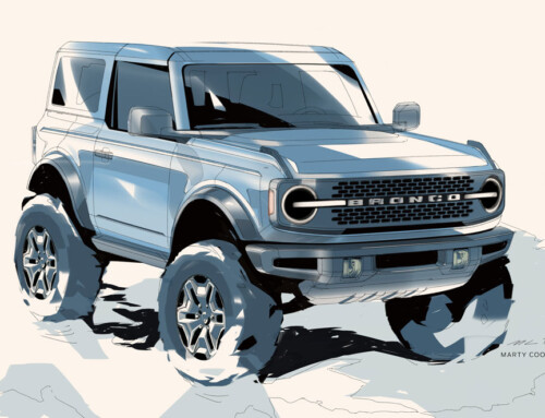 FORD BRONCO, DESIGNED FOR ADVENTURE