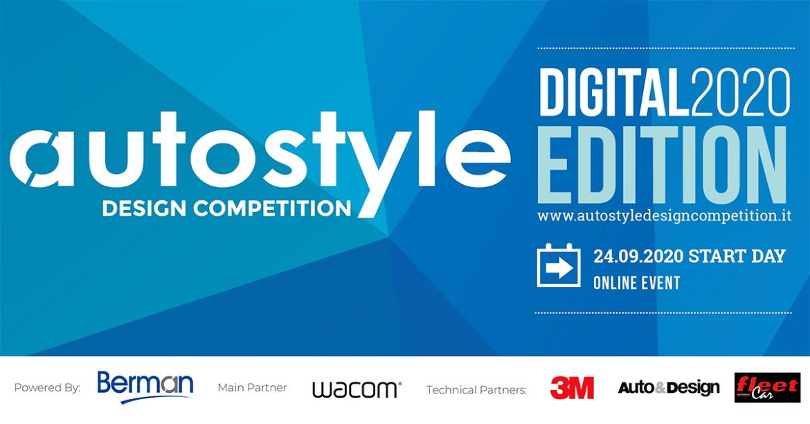 AUTOSTYLE DESIGN COMPETITION 2020, EDIZIONE DIGITALE
