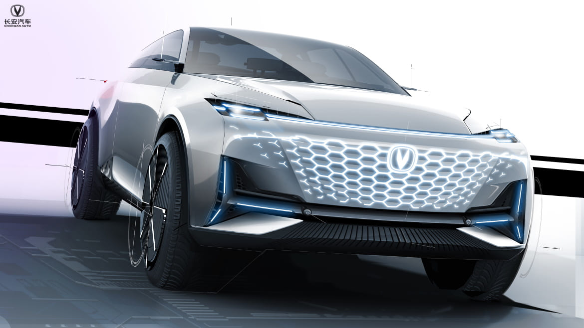 CHANGAN VISION-V, A LOOK INTO THE FUTURE