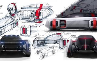 LDA Studio, un Suv per Le Mans