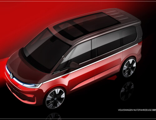 VOLKSWAGEN MULTIVAN FIRST SKETCHES