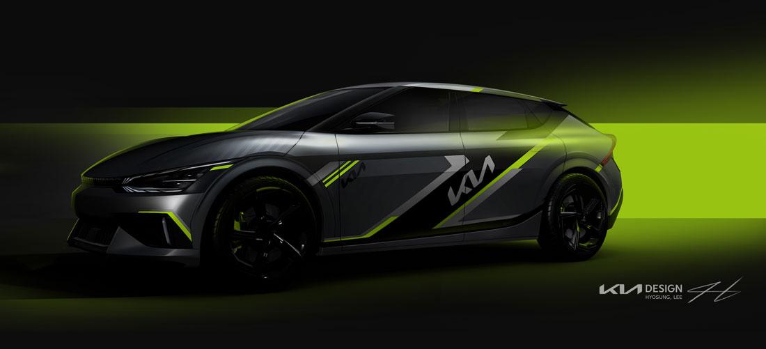 Kia EV6 exterior design