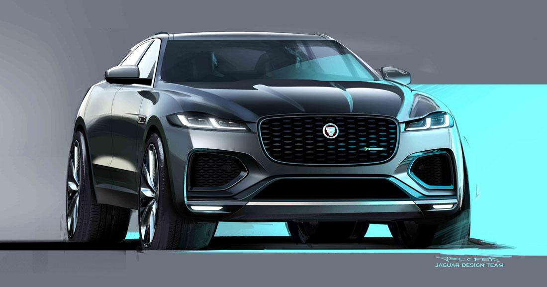 Jaguar design exterior sketch