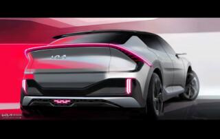 Kia EV& exterior design rear