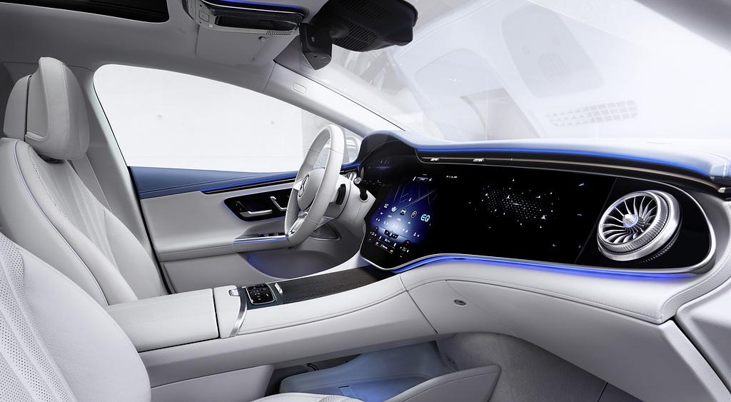 Mercedes-Benz EQE Interior