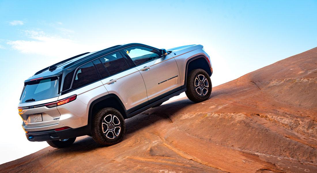 Nuova Jeep Grand Cherokee TrailHawk 2022