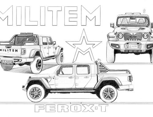 MILITEM FEROX-T, EXTREME DRESSED IN ELEGANCE